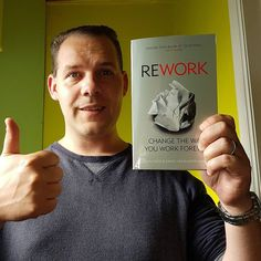 Rework your business. One of the best books to get the best out of your efforts. . See my Top 50 best network marketing books at www.thimo.pro/top50 . . #thimopro #approvedbooks #books #booklovers #booklover #jasonfried #rework #workaholics #readingbooks #reading #bestbooks #networkmarketing #marketing #mlm #top50 #topbooks #business #businessbooks #readit #entrepreneur #entrepreneurship