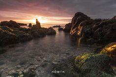 Howth, Sunrise Landscape Photos, Landscape Photography, Irish Greetings, Dublin, Sunrise, Greeting Cards, River, Prints, Outdoor
