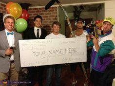 Publishers Clearing House: Prize Patrol - Homemade costumes for groups