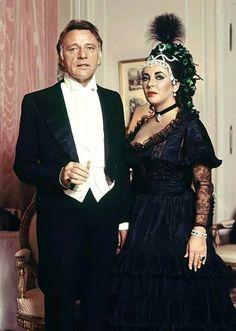 Elizabeth Taylor and Richard Burton, 1971
