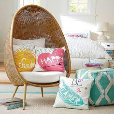 Coastal Inspiration Pillow Cover #pbteen $35.99
