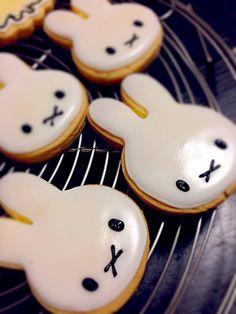 ミッフィーのアイシングクッキー