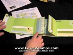 Flip Book Scrapbook Sneak Peek