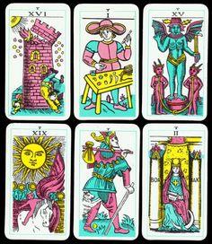 Rarität 1974 Rigel Tarot Cards R.G. Richard Gardner Tarot de Marseille Conver