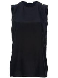 Givenchy Blusa Preta. - Dell'oglio - farfetch.com.br