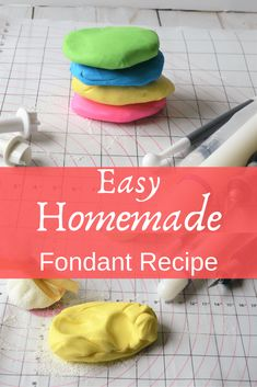 Easy delicious homemade fondant for cake decorating faith love and chocolate 40 best birthday cakes to bake for your person Homemade Fondant Recipes, Frosting Recipes, Homemade Cakes, Rolled Fondant Recipe, Frosting Tips, Homemade Fondant Recipe Without Marshmallows, Recipe For Fondant Icing, Fondant Recipe For Beginners, Making Fondant