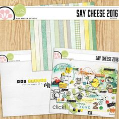 Say Cheese 2016 | Bundle