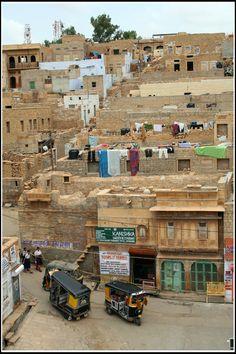 Bank Colony, Jaisalmer, Rajasthan_ India