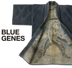 Fireman's short coat [with quilted prints of firefighting scenes] in Edo Era (from Edwin ):