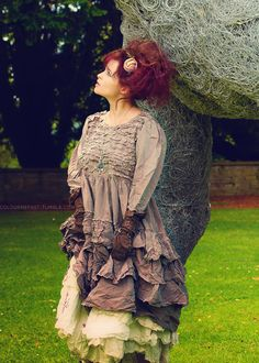 Helena Bonham Carter is probably my biggest influence. She is such an incredible woman. She taught me that no matter what people say, you must always be yourself.