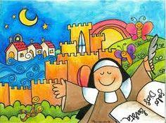 Resultado de imagen de santa teresa de jesus para niños