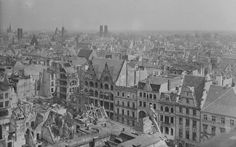 Tak wyglądał Wrocław w 1945 roku [ZDJĘCIA] - Gazetawroclawska.pl Paris Skyline, Louvre, Building, Travel, Viajes, Buildings, Destinations, Traveling, Trips