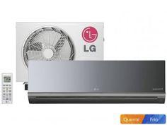 Ar-Condicionado Split LG 12000 BTUs Quente/Frio - Inverter Libero Art Cool - com as melhores condições você encontra no Magazine Shopspremium. Confira!