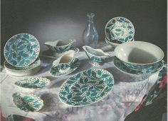 Vaisselle de Paul Poiret - Atelier Martine  Faïence de Choisy-le-Roi