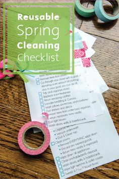 Get a jumpstart on your home improvements this season with a Reusable Spring Cleaning List. Cleaning up is easy with Bounty Paper Towels—they are absorbent and durable and can reach even the toughest of spots!