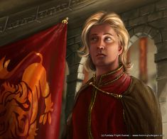 "Lancel Lannister #HouseLannister #HearMeRoar "" Even a poor copy of Jaime is sweeter than an empty bed."""