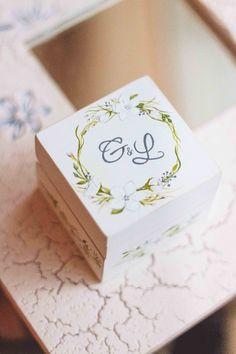 Шкатулка для колец на свадьбу Авторский Киоск