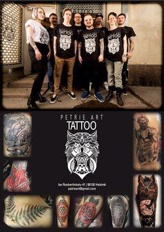 Petrie art tattoo helsinki finland