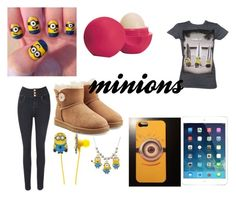 """outfit minions"" by marylopez-127 ❤ liked on Polyvore"