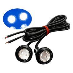 2Pcs 12V Car Motorcycle 10W LED Eagle Eye Daytime Running DRL Tail Light Lamp Backup Parking Light Auto Bulb Car LED Light - $12.99
