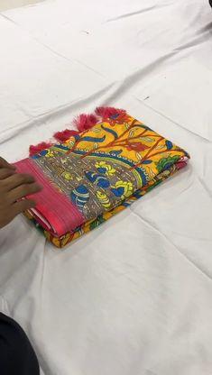 Sari Fabric, Fabric Flowers, Linen Fabric, Designer Sarees Collection, Saree Collection, Handloom Saree, Ikkat Saree, Silk Sarees With Price, Valentine Special