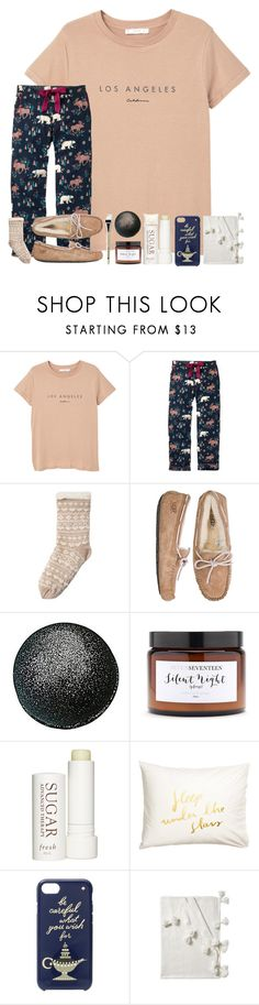 """queens don't compete with hoes"" by erinleigh02 ❤ liked on Polyvore featuring MANGO, Fat Face, Muk Luks, UGG Australia, Silent Night, Therapy, Kate Spade, Serena & Lily and Origins"