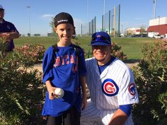 Boy Battling Rare Genetic Disease Finds 'Huge Inspiration' in Friendship with Chicago Cu...
