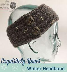 Exquisitely Yours Winter Headband - Free Crochet Pattern
