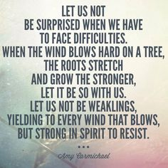 35 Most Powerful Quotes about Resilience Quotable Quotes, Faith Quotes, Bible Quotes, Bible Verses, Qoutes, Biblical Quotes, Amy Carmichael, Great Quotes, Inspirational Quotes