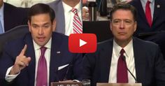 WATCH: James Comey In Total MELTDOWN, After Marco Rubio Asked Him 1 Question