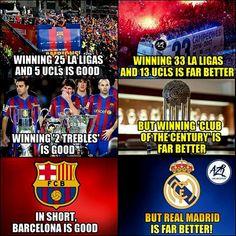 Agree? 😳 Real Madrid And Barcelona, Fc Barcelona, Cristiano Ronaldo, Cr7 Ronaldo, Football Memes, Neymar Jr, Club, Lionel Messi, Psg