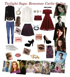 """""""Twilight Saga: Renesmee Carlie Cullen"""" by purpledoritos16 ❤ liked on Polyvore featuring Emma Watson, Cullen, Levi's, Yves Saint Laurent, Chloé, Wilbur & Gussie, Lime Crime, Boohoo, Chanel and Rebecca Minkoff"""