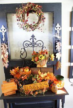 fall entry way