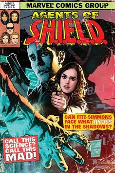 Agents of Shield comic book cover
