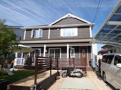 カバードポーチのある家 Osaka, Outdoor Decor, Home Decor, Homemade Home Decor, Interior Design, Home Interiors, Decoration Home, Home Decoration, Home Improvement