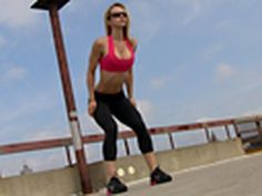 34. FITNESS - Cardio Exercise Workout 2 by BodyRock.Tv (Zuzanna)