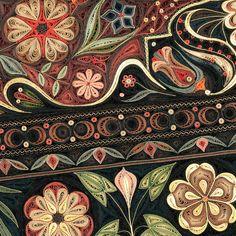 紙で作られた絨毯など、超大作なペーパークイリングアート! (5)