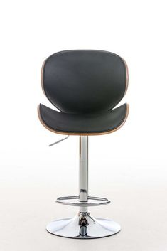 Black Faux Leather Bar Stool Modern Wood Metal Kitchen Hotel Cafe Swivel Chair for sale online Leather Bar Stools, Modern Bar Stools, Chairs For Sale, Swivel Chair, Black Faux Leather, Wood And Metal, Kitchen, Swinging Chair, Cooking