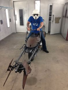 The 'Star Wars' Speeder Bike Has Been Brought To Life As A Motorcycle