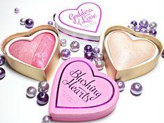 nightflyyy beauty: Makeup Revolution - Blush & Highlighter Hearts