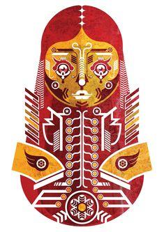 Adobe Illustrator & Photoshop tutorial: Create symmetrical vector character art - Digital Arts