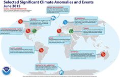 Increasing global average temperatures. Learn innovative business strategies for a changing climate on the IEMA Approved Certificate in Sustainability Strategy course http://bit.ly/1CLQ7fJ