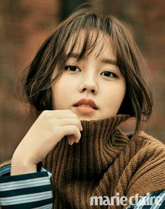 POPdramatic: Kim So Hyun Looks Chic and Poised in a Pictorial with Marie Claire Child Actresses, Korean Actresses, Asian Actors, Korean Actors, Korean Star, Korean Girl, Asian Girl, Jung So Min, Korean Beauty