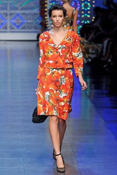 Dolce & Gabbana Spring 2012 Ready-to-Wear Collection - Vogue
