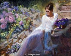 Volegov.com :: TEA AND PLUMS, painting,