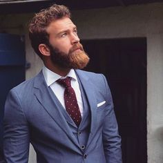 Mens fashion and beard