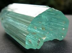 Gem cutters. A 98 gram gem aquamarine crystal that will yield a huge gemstone and many smaller. Offering this crystal now. https://goldenhourminerals.com/shop