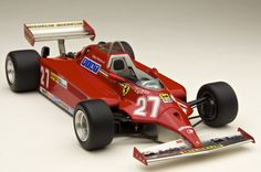 Ferrari 126CK Monaco G.P.1981 NO.27 Gilles Villeneuve Tameo Kits TMK 391 : 1/43