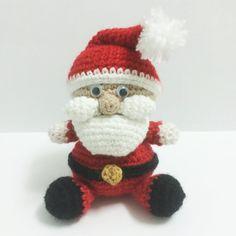 Pack 2 in 1: Santa Claus and Christmas Tree Saint by Amigurumeria