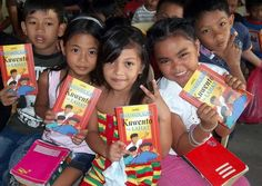 Manila, Philippines :: Local children show The Most Important Story Ever Told in their own language.